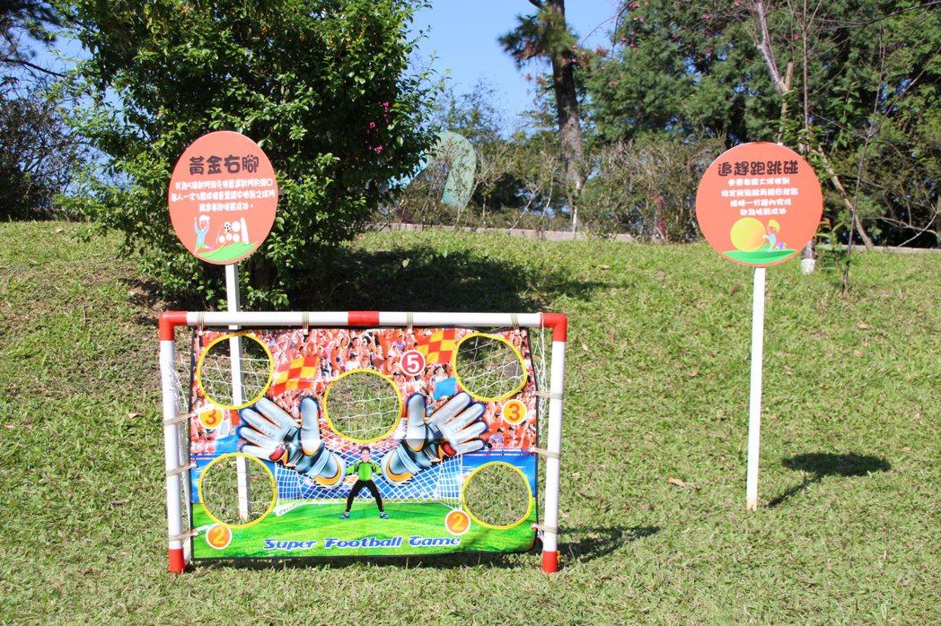 桃園市觀旅局今年舉辦「角板山梅花季」,共有10大系列活動,包含閤家歡草地遊戲,讓...