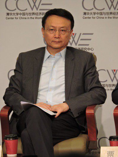 北京大學國際關係學院院長賈慶國。記者戴瑞芬/攝影