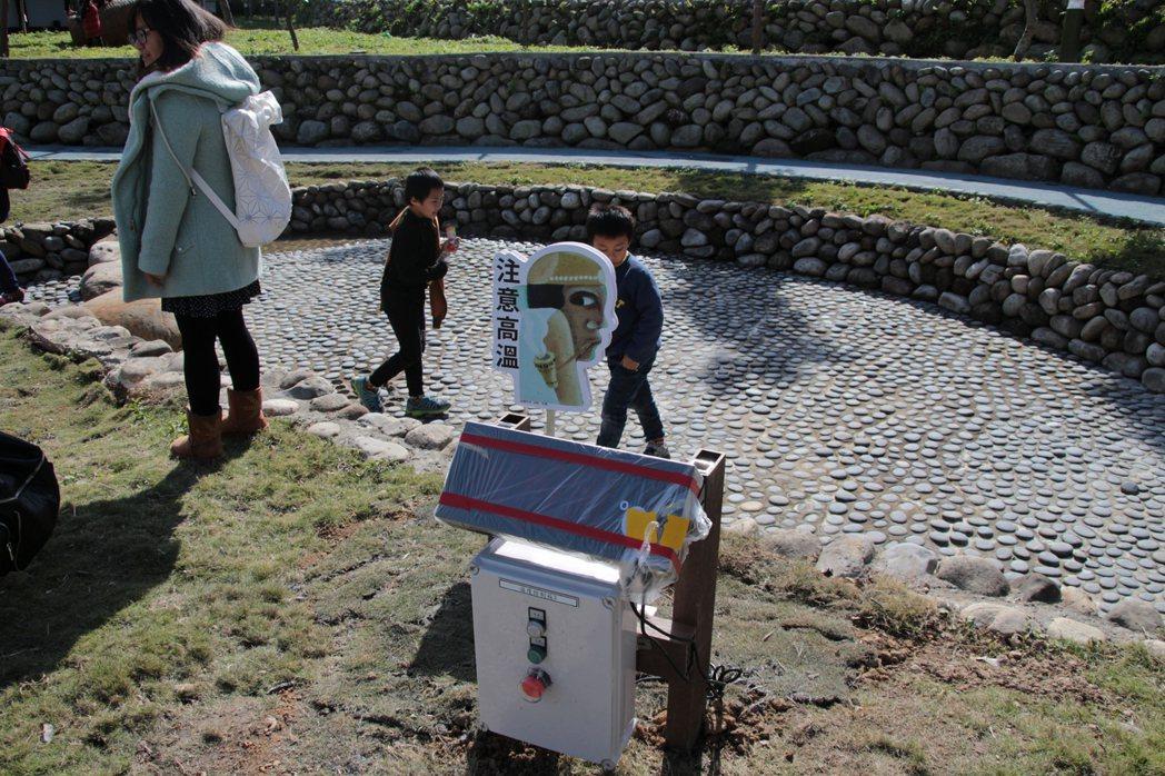 桃園復興「羅浮泰雅溫泉公園」,今天開幕啟用。記者許政榆/攝影