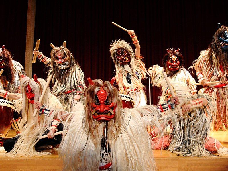 秋田生鬼柴燈祭。圖/男鹿なび提供