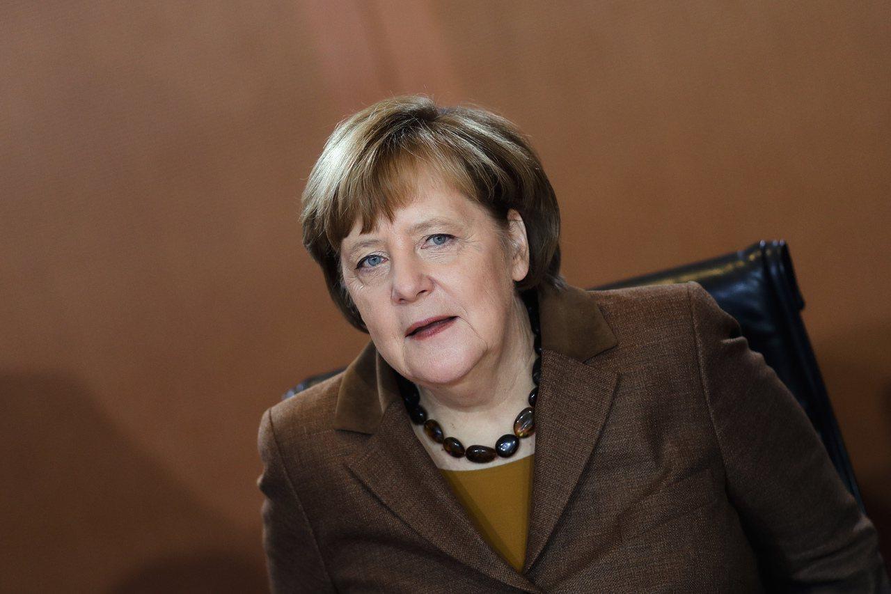 德國總理梅克爾。美聯社
