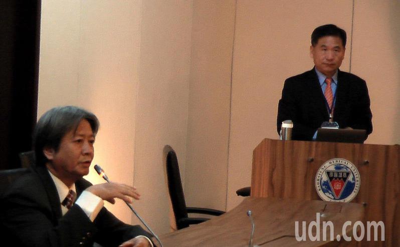 全球高雄醫學大學校友會聯合會舉辦第八屆校長候選人治校理念公開說明會。記者徐如宜/攝影