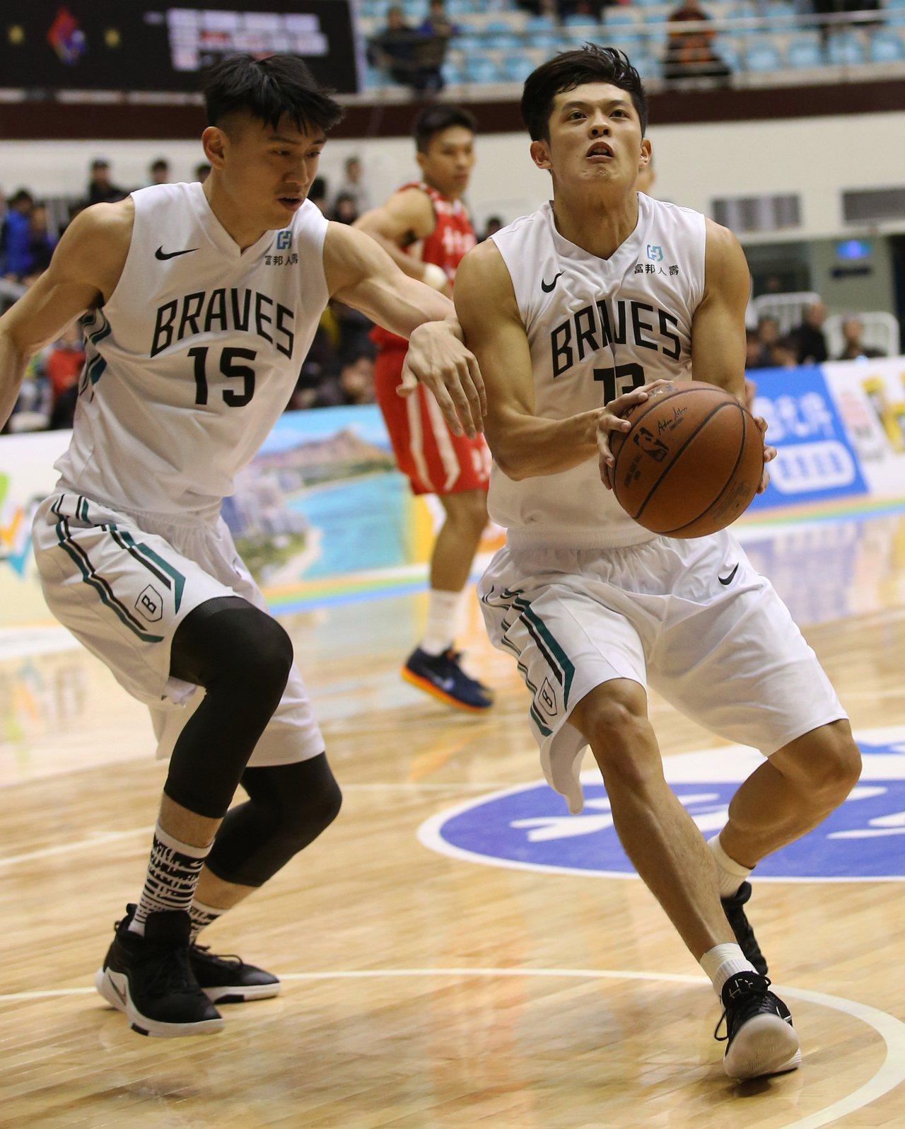 林孟學(右)。圖/中華籃球協會提供