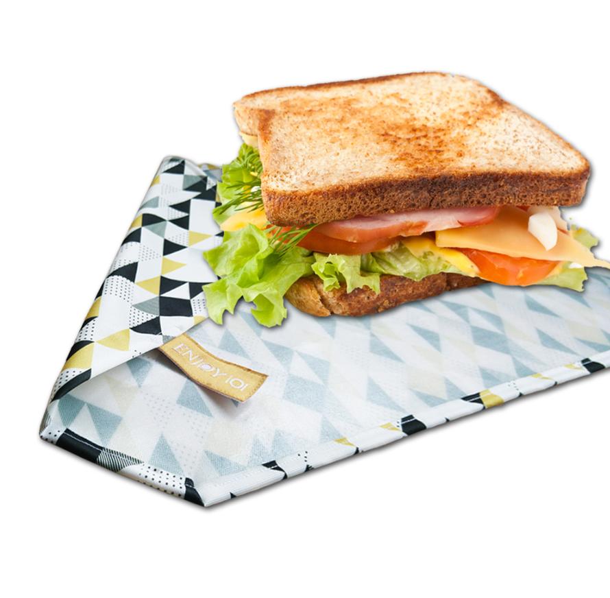 ENJOY101矽膠布環保食物袋,特價550元。圖/momo購物網提供