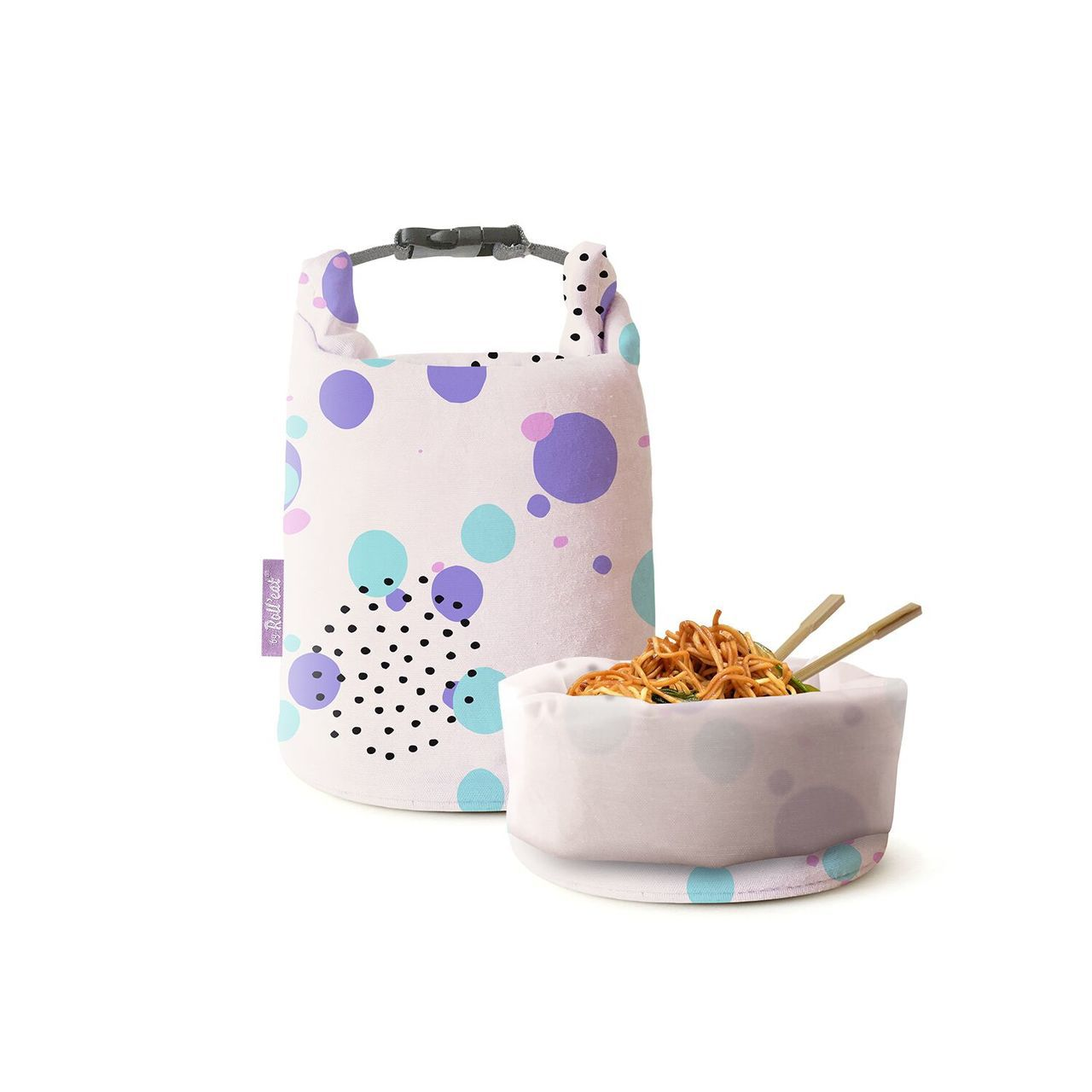 Roll'eat Eco Wrap環保食物袋Grab'n Go可盛裝熱食,售價5...