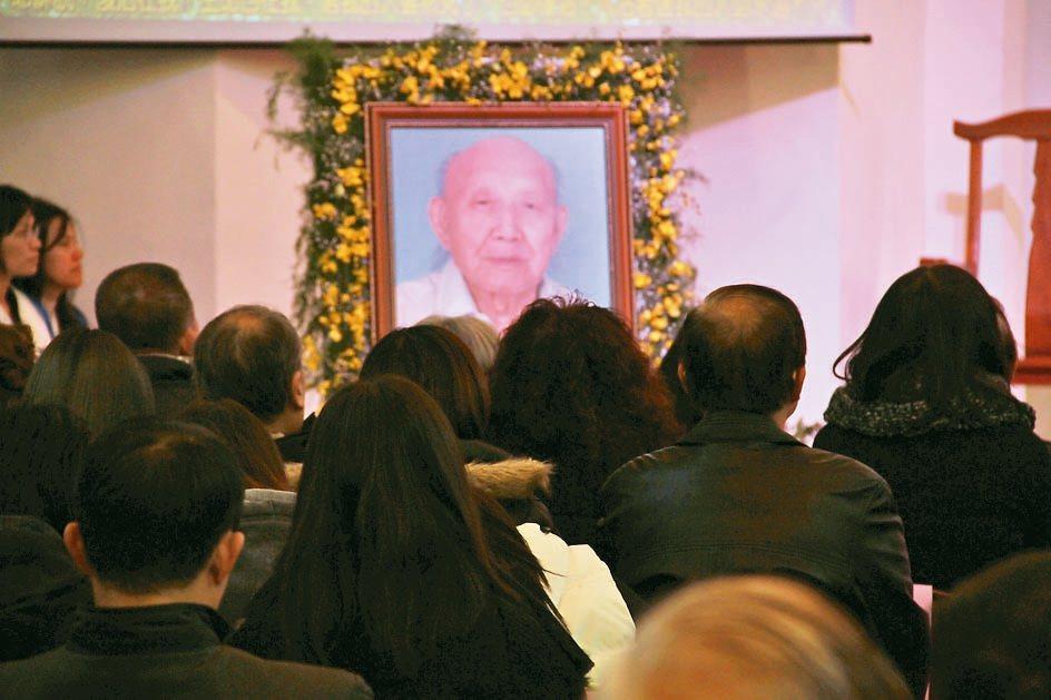 曾獲國家文藝獎等多項殊榮的畫家王攀元,以110歲高壽走完人生。 記者羅建旺/攝影