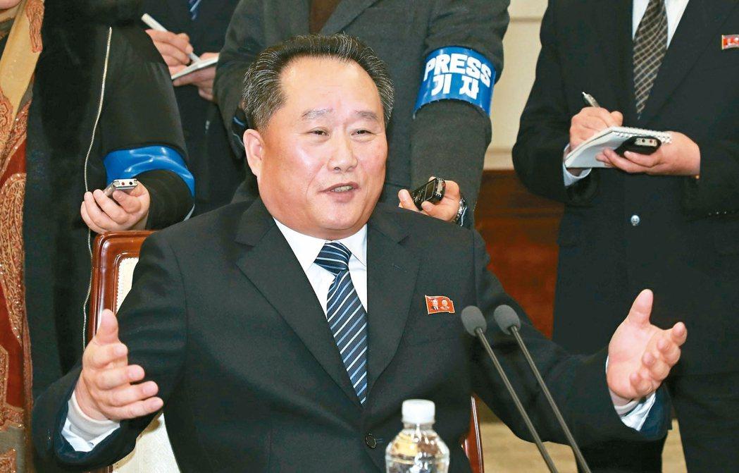 北韓祖國和平統一委員會委員長李善權。 歐新社