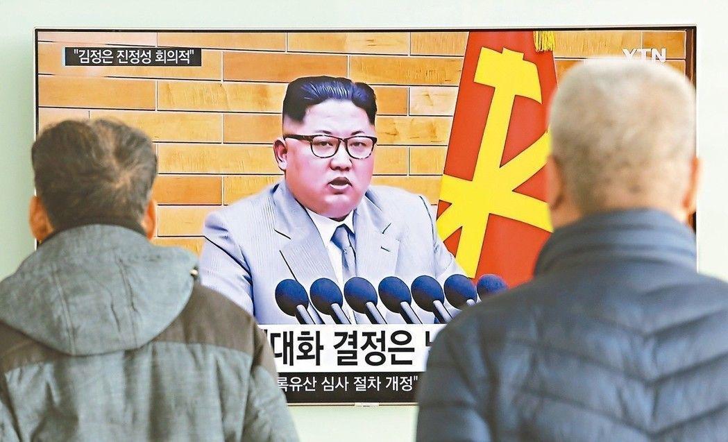 中方歡迎並支持南北韓以平昌冬奧為契機,改善相互關係。圖為南韓民眾三日在首爾火車站...