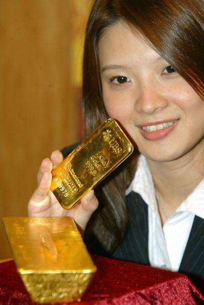 投資「黃金撲滿」,可以分散風險,不怕買到高點。 圖/聯合報系資料照片