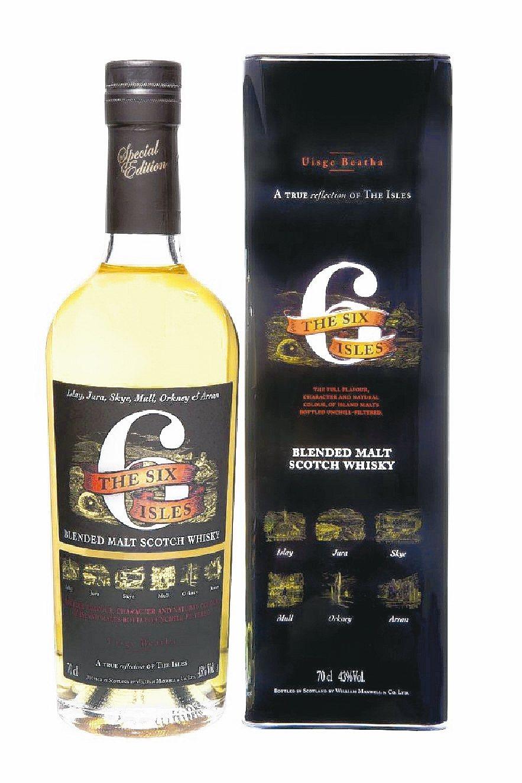 六海島純麥蘇格蘭威士忌。 陸海洋行/提供