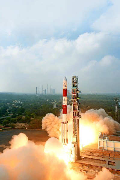 一箭31星成功入軌,印度欲低價搶攻航天市場。 歐新社