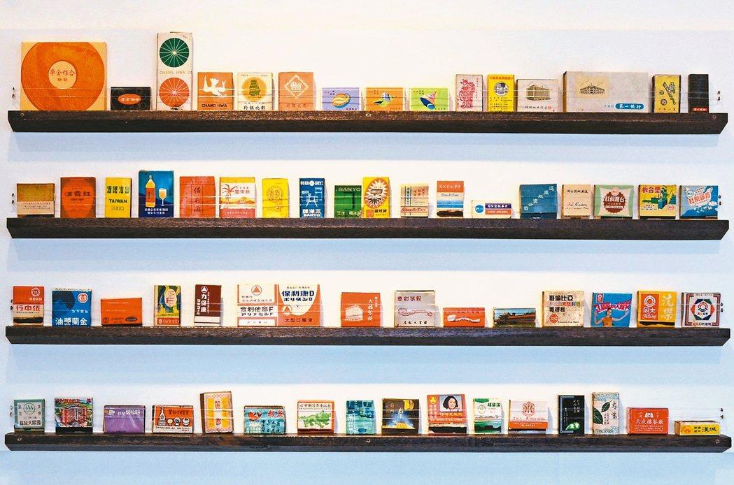 迪化207博物館推出「城市縮影–火柴盒」莊永明收藏展。 迪化街207博物館/提供