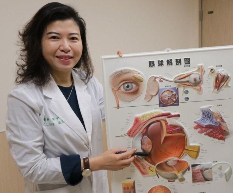 亞洲大學附屬醫院眼科主任梁中玲建議,患者最好固定一處就醫,以便於讓醫師逐次視情況...