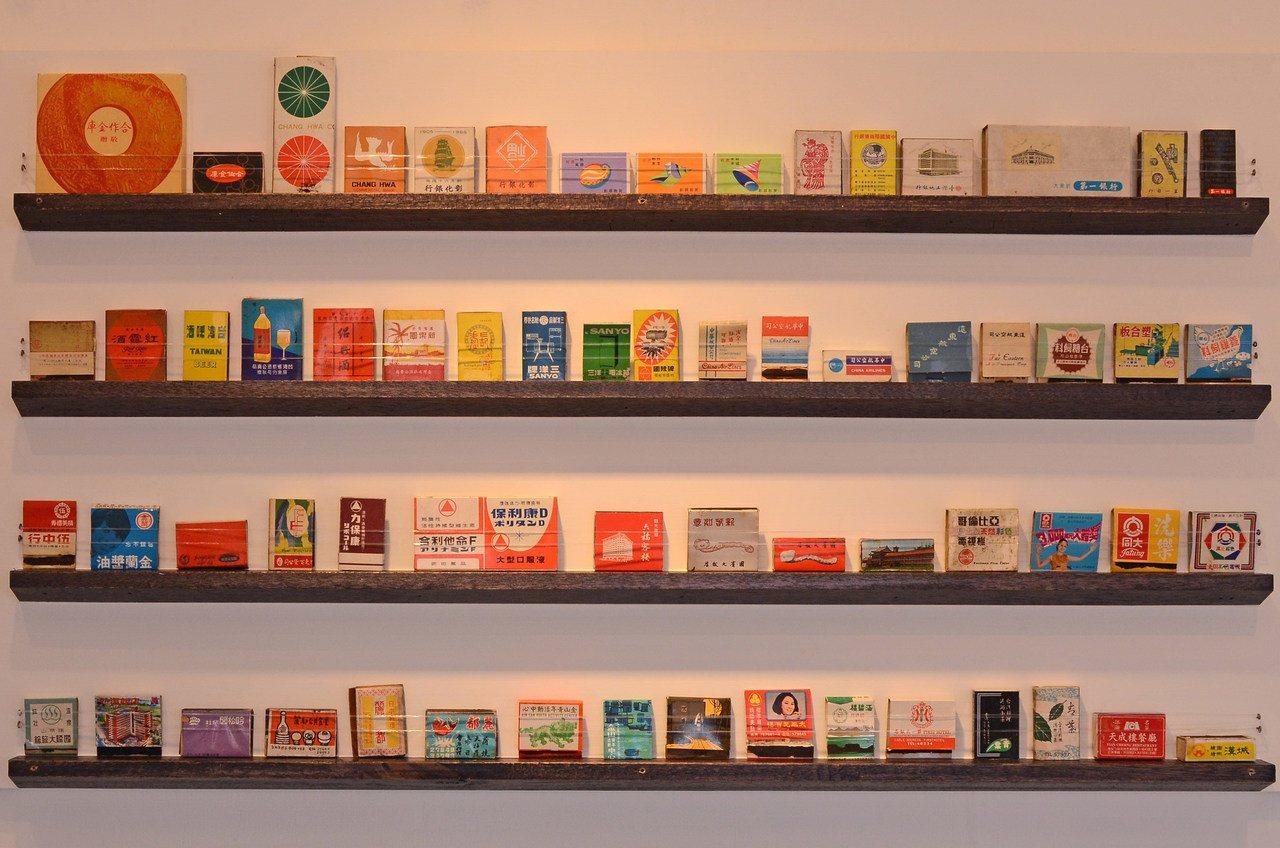 迪化207博物館推出「城市縮影–火柴盒」莊永明收藏展。提供/迪化街207博物館。