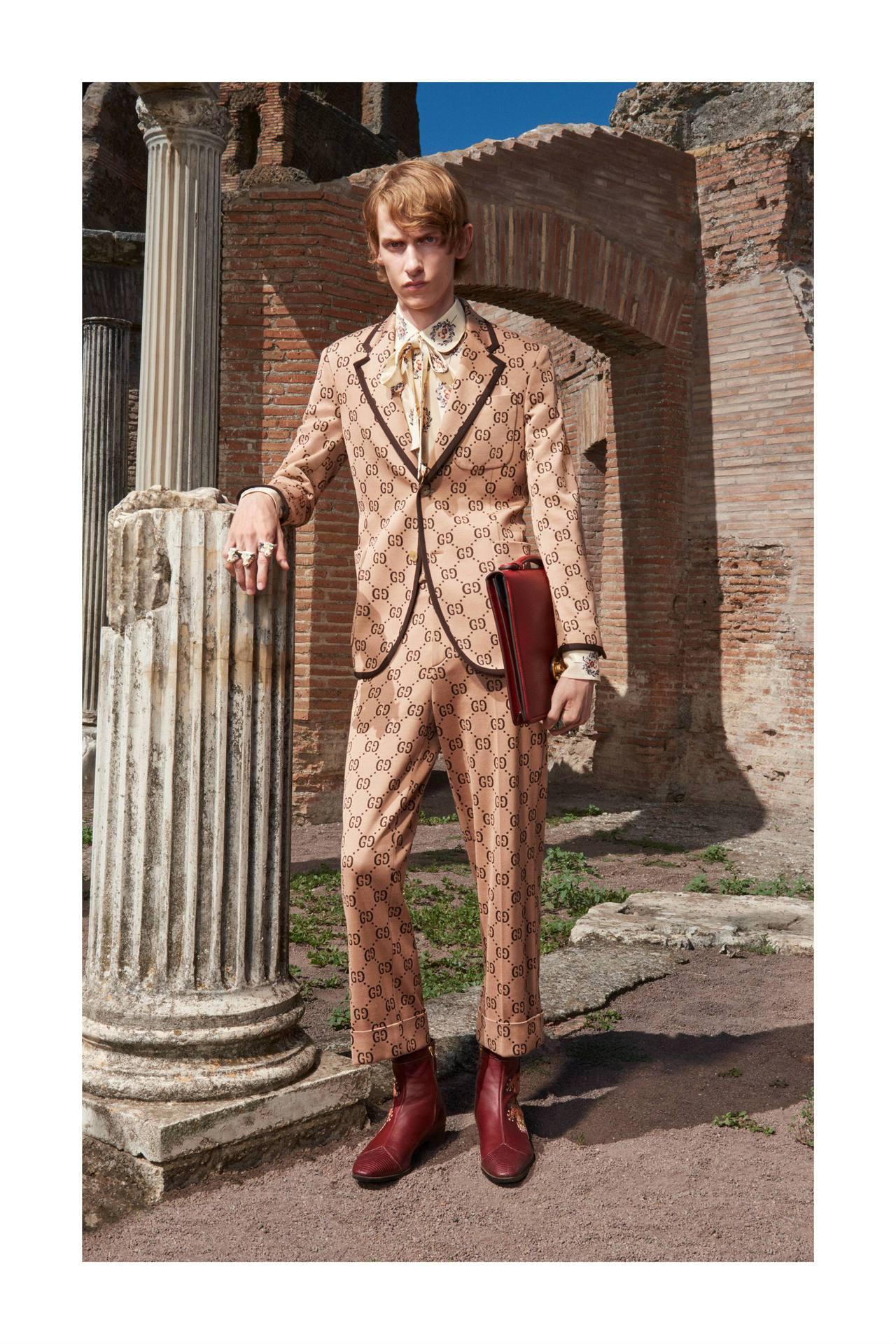 Gucci早春系列型錄。圖/Gucci提供