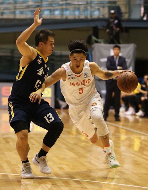 彭俊諺(右)。圖/中華籃球協會提供