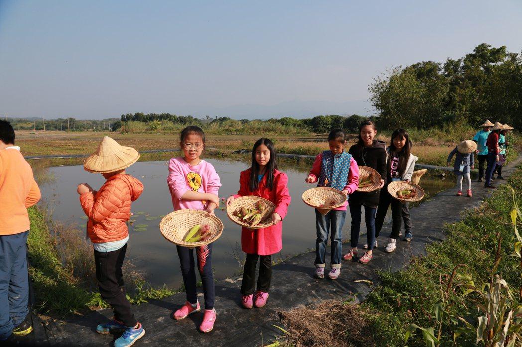 台積電14A廠舉辦農村生態教育體驗營,60名來自台積電家庭孩子本周末至台南白河、...