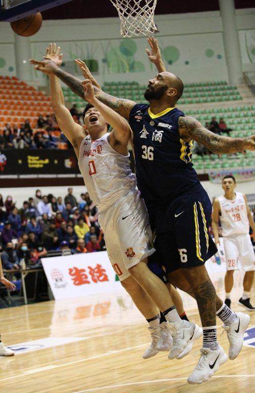 拉莫斯(右)。圖/中華籃球協會提供