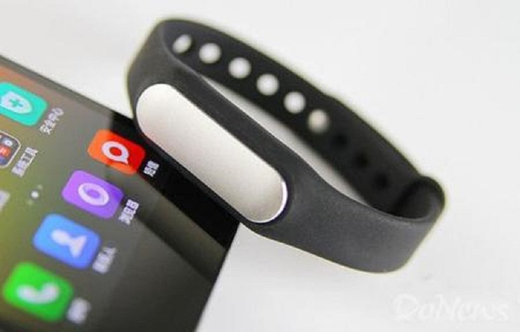 小米手環即由華米科技製造。(取自DoNews)