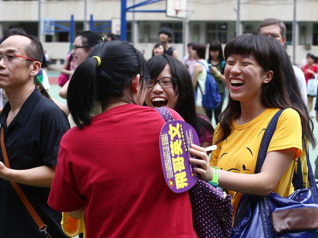 圖為高中職特色招生考生。本報資料照/記者陳柏亨攝影