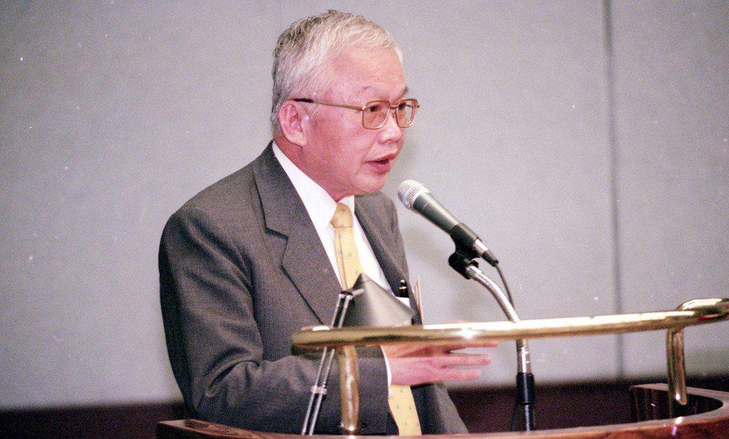 1999年,劉泰英語出驚人表示,中共若動武,台灣飛彈將打香港、上海。 圖/聯合報...