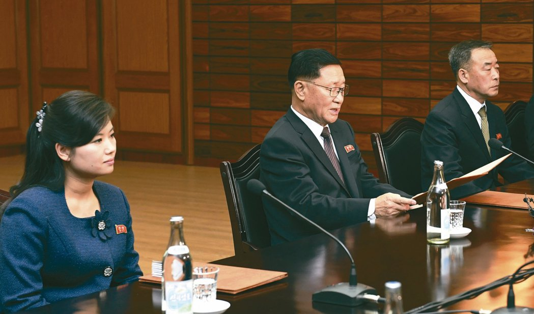 南北韓敲定冬奧表演 沒提「牡丹峰」