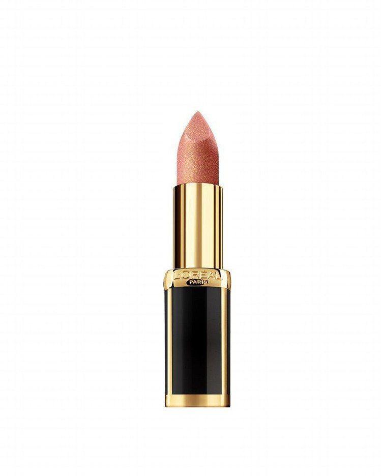 巴黎萊雅X BALMAIN限量聯名訂製唇膏時尚訂製系列「自信#356」是玫瑰金色...