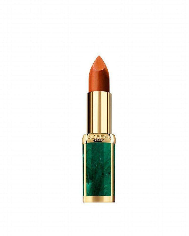 巴黎萊雅X BALMAIN限量聯名訂製唇膏野性風潮系列「狂熱#469」,售價53...