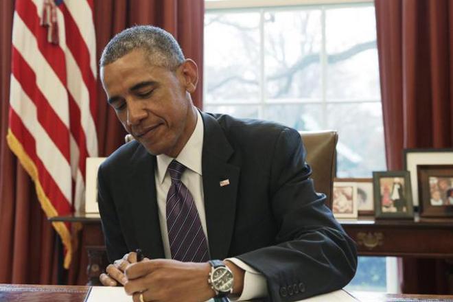 美國前總統歐巴馬是個夜貓子,經常工作到午夜一兩點。 (路透)