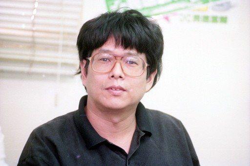 1991年,民進黨在中央黨部主持六名教授的入黨儀式,圖為教授陳師孟。 圖╱聯合報...