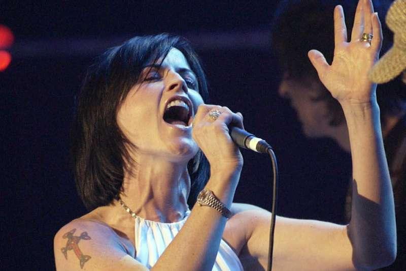 小紅莓樂團主唱桃樂絲歐萊登在倫敦猝逝。(美聯社)