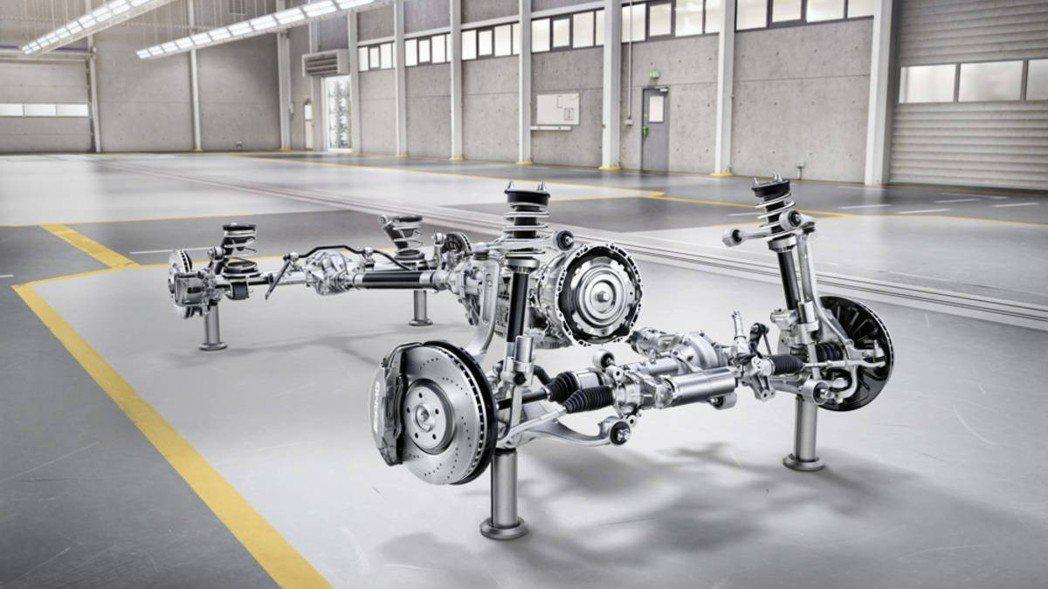 換上全新懸吊設定及底盤。 圖/Mercedes-Benz提供