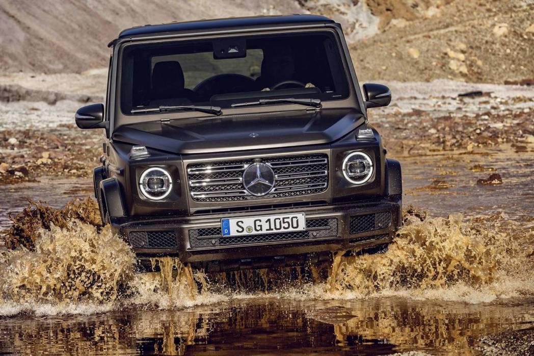 Mercedes-Benz G-Class的優異越野能力有增無減。 圖/Mercedes-Benz提供
