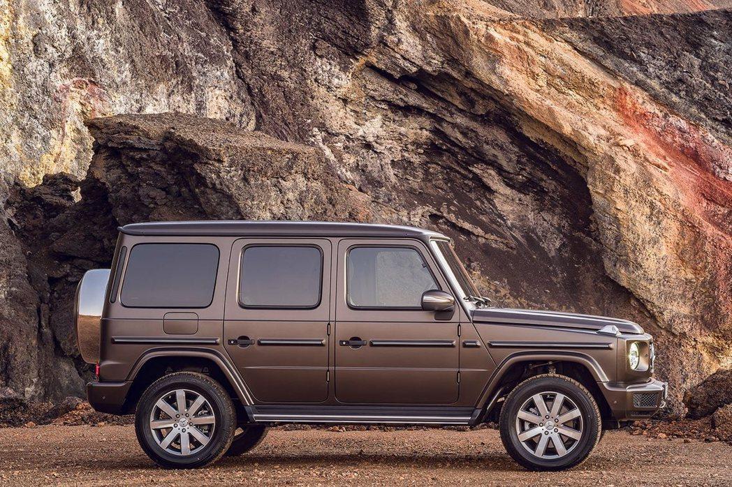 全新G-Class整體車身尺寸放大。 圖/Mercedes-Benz提供