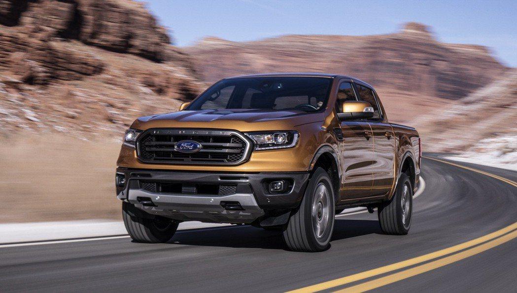 新年式Ford Ranger北美亮相。 圖/Ford提供