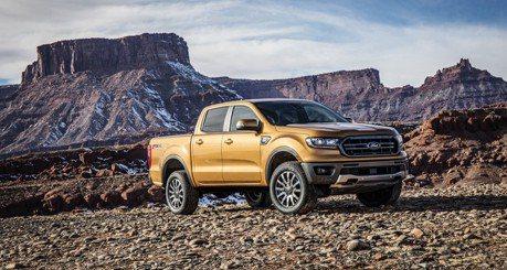 強化貨卡陣容 新年式Ford Ranger北美亮相