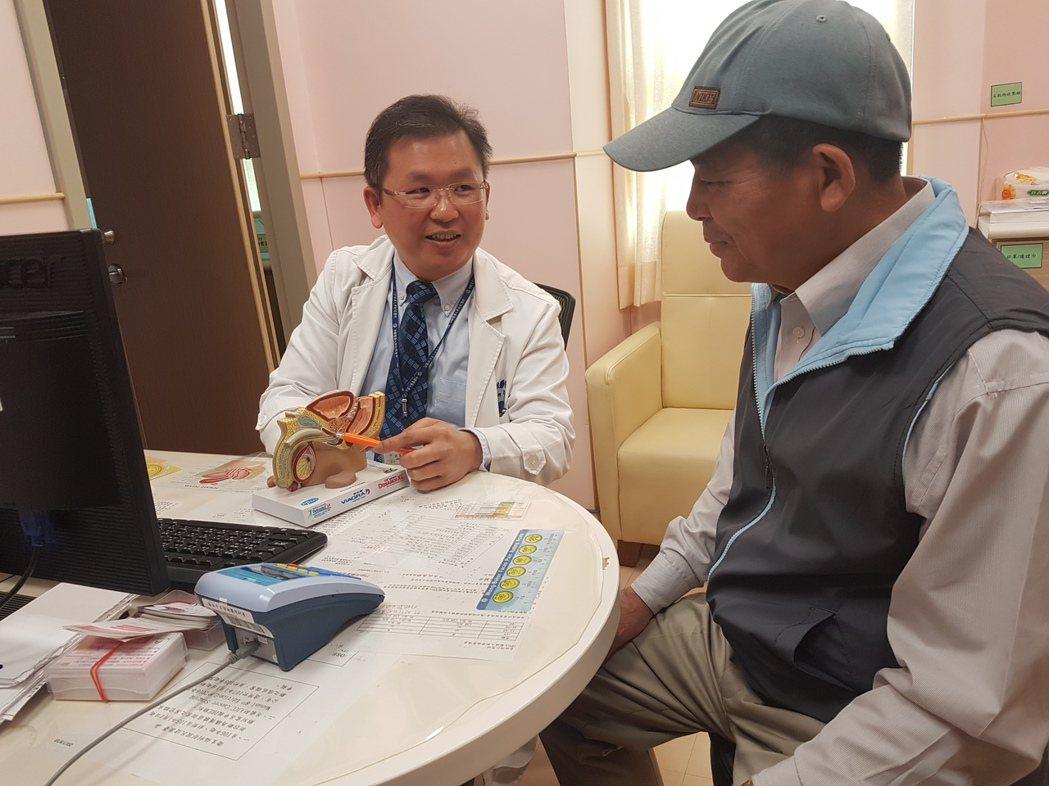 安南醫院泌尿科提醒大家注意攝護腺肥大 與感冒藥間的關聯 記者修瑞瑩/攝影
