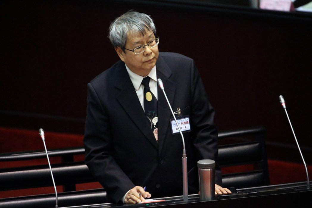 影/史上最狂監委 陳師孟狂語錄