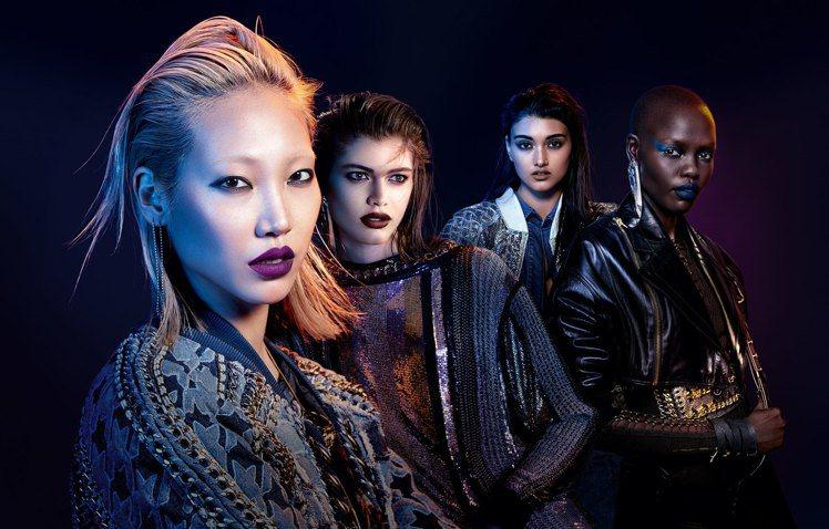 巴黎萊雅X BALMAIN限量聯名訂製唇膏叛逆搖滾系列將BALMAIN前衛的品牌...