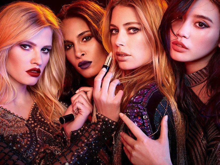 巴黎萊雅X BALMAIN限量聯名訂製唇膏時尚訂製系列是為了讚頌BALMAIN具...