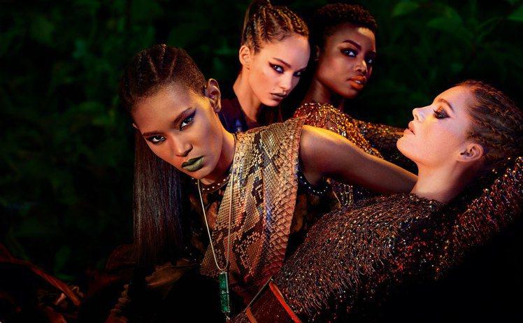 巴黎萊雅X BALMAIN限量聯名訂製唇膏野性風潮系列,企圖喚醒女性深藏不露的狂...