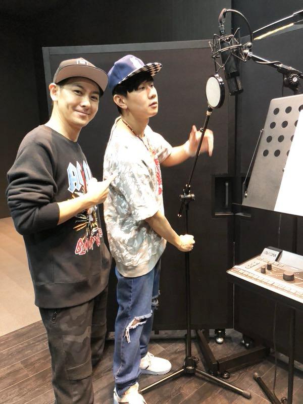 林志穎找來林俊傑(右)擔任專輯製作人。圖/娛人制造提供
