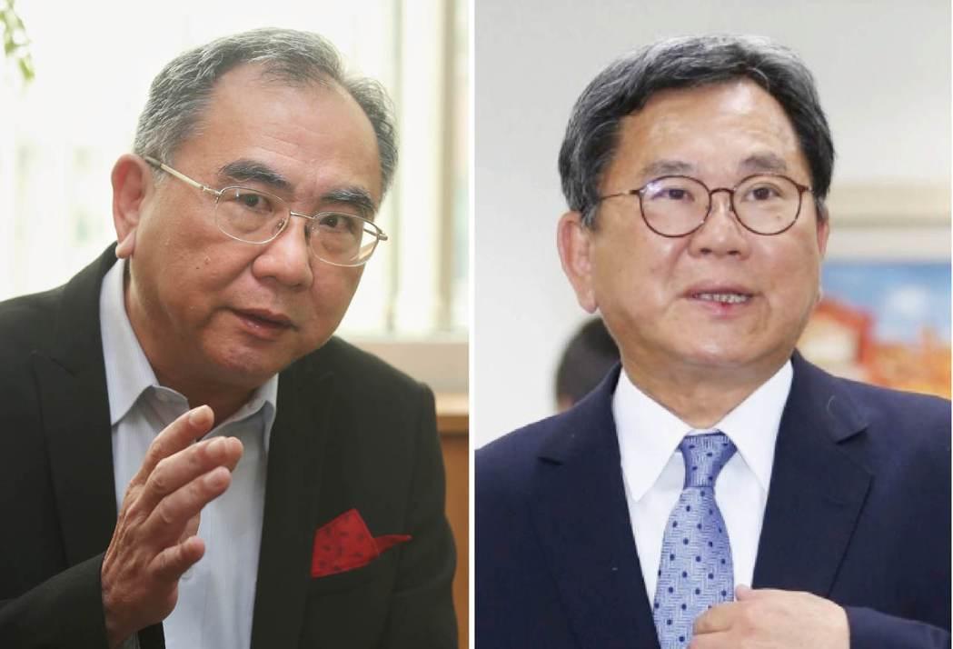 陳明仁(左圖)、陳明文(右圖)。 圖/聯合報系資料照片