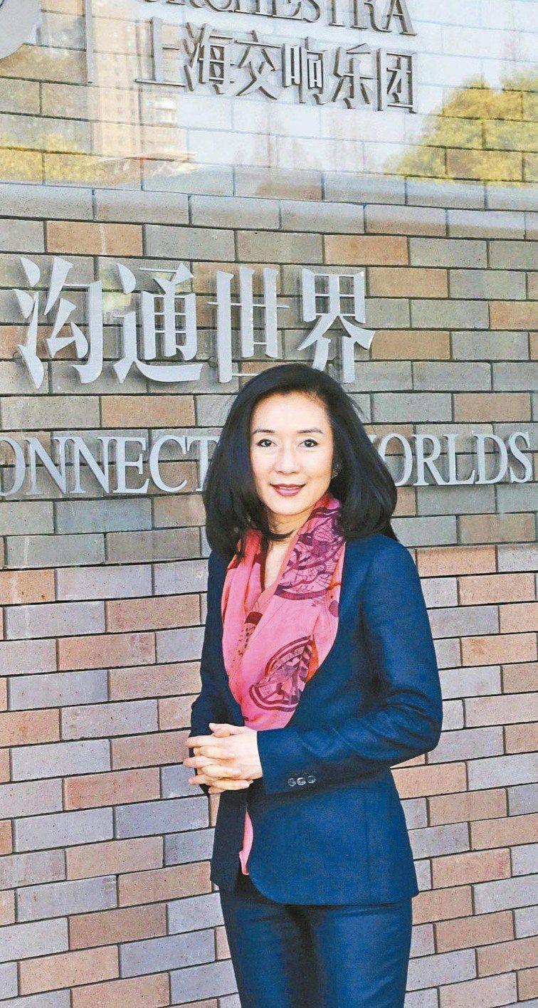 呂秀齡現在是上海交響樂團幕後推手之一。上海交響樂團/提供
