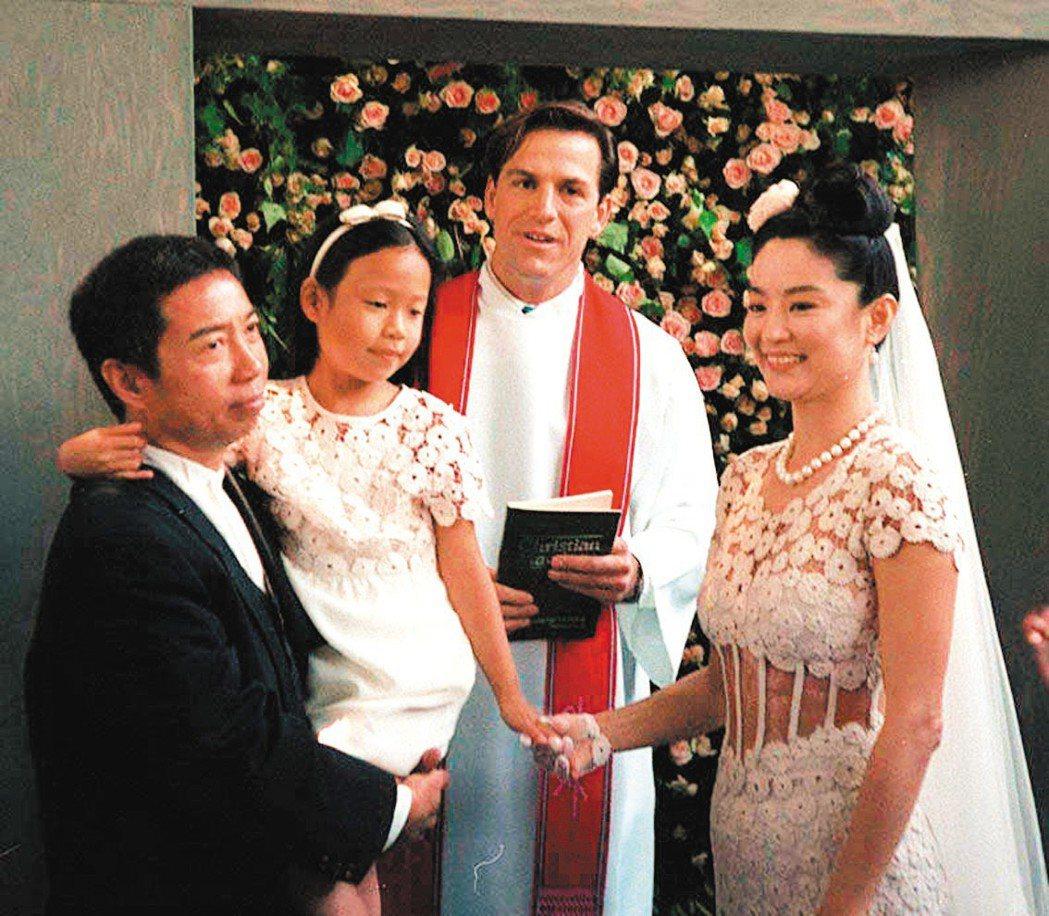 林青霞1994年嫁給香港商人邢李㷧,轟動一時。 圖/聯合報系資料照片