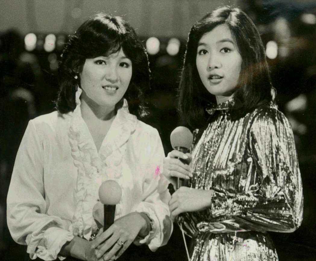呂琇菱(右)及她的妹妹呂艾玲。 圖/聯合報系資料照片