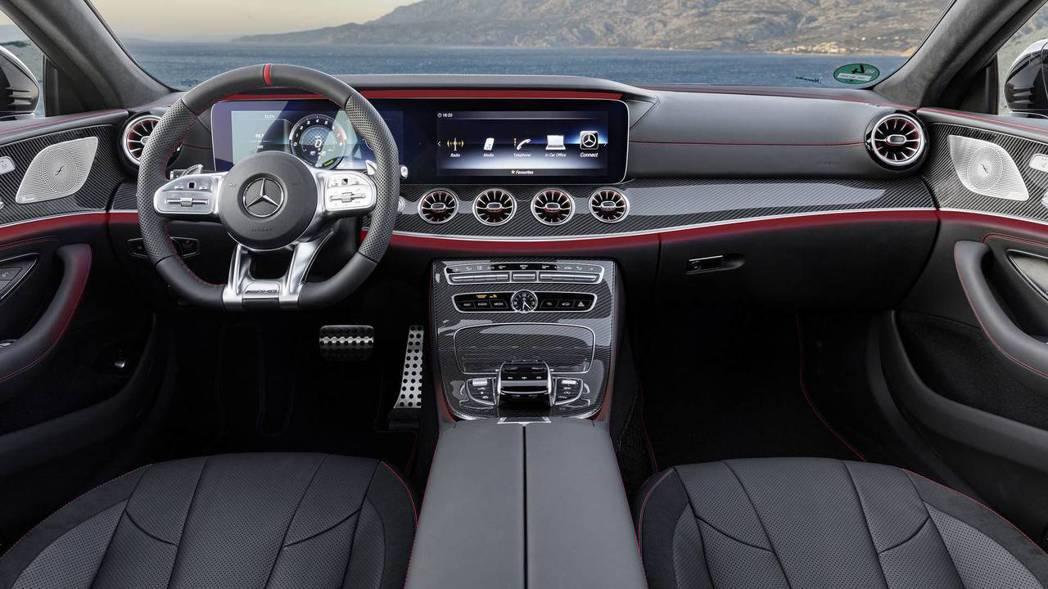 CLS 53 4Matic+內裝。 摘自Mercedes-Benz