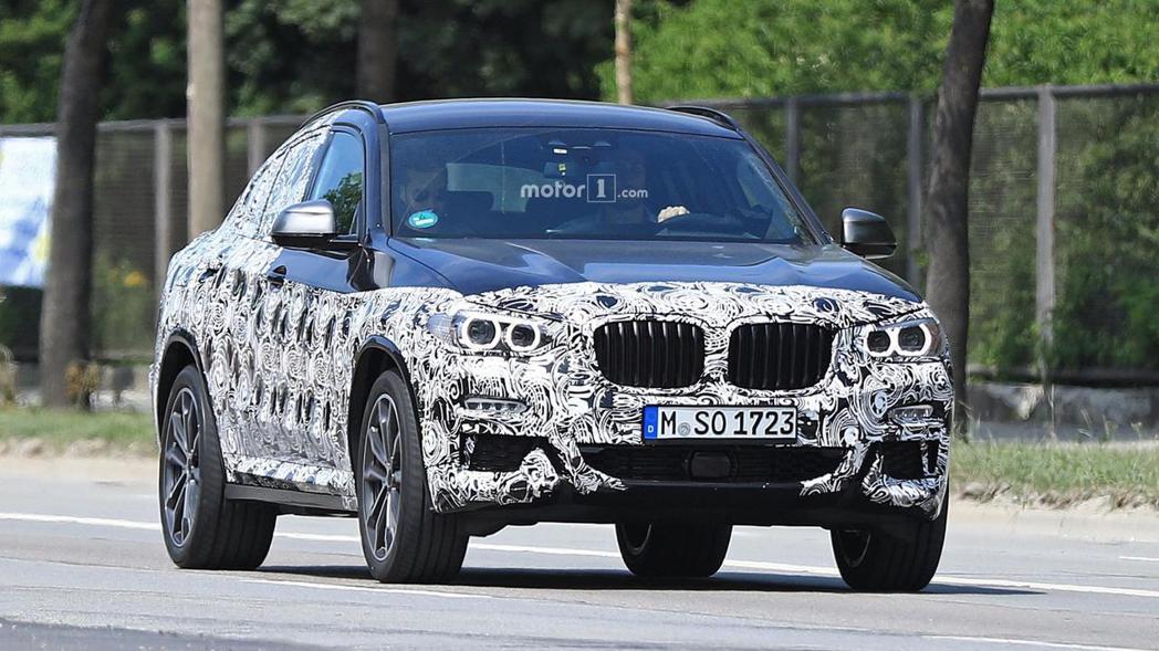 全新BMW X4試車間諜照。 摘自Motor 1