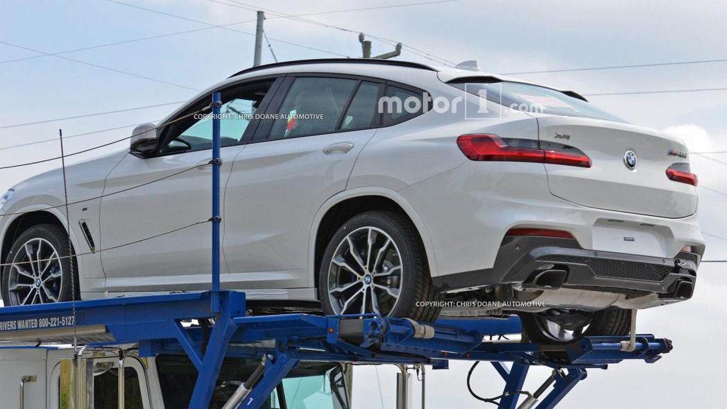 全新BMW X4無偽裝間諜照。 摘自Motor 1