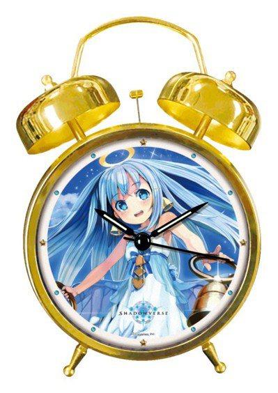 ▲「叮噹天使」造型鬧鐘─讓叮噹天使每天叮咚叮咚地叫你起床吧!